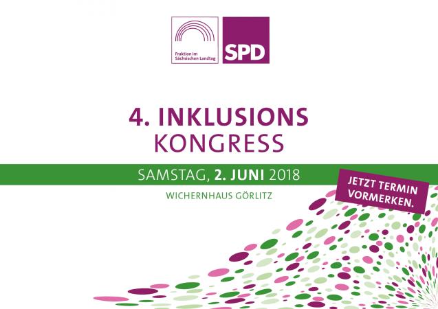 4. Inklusionskongress am 2. Juni 2018