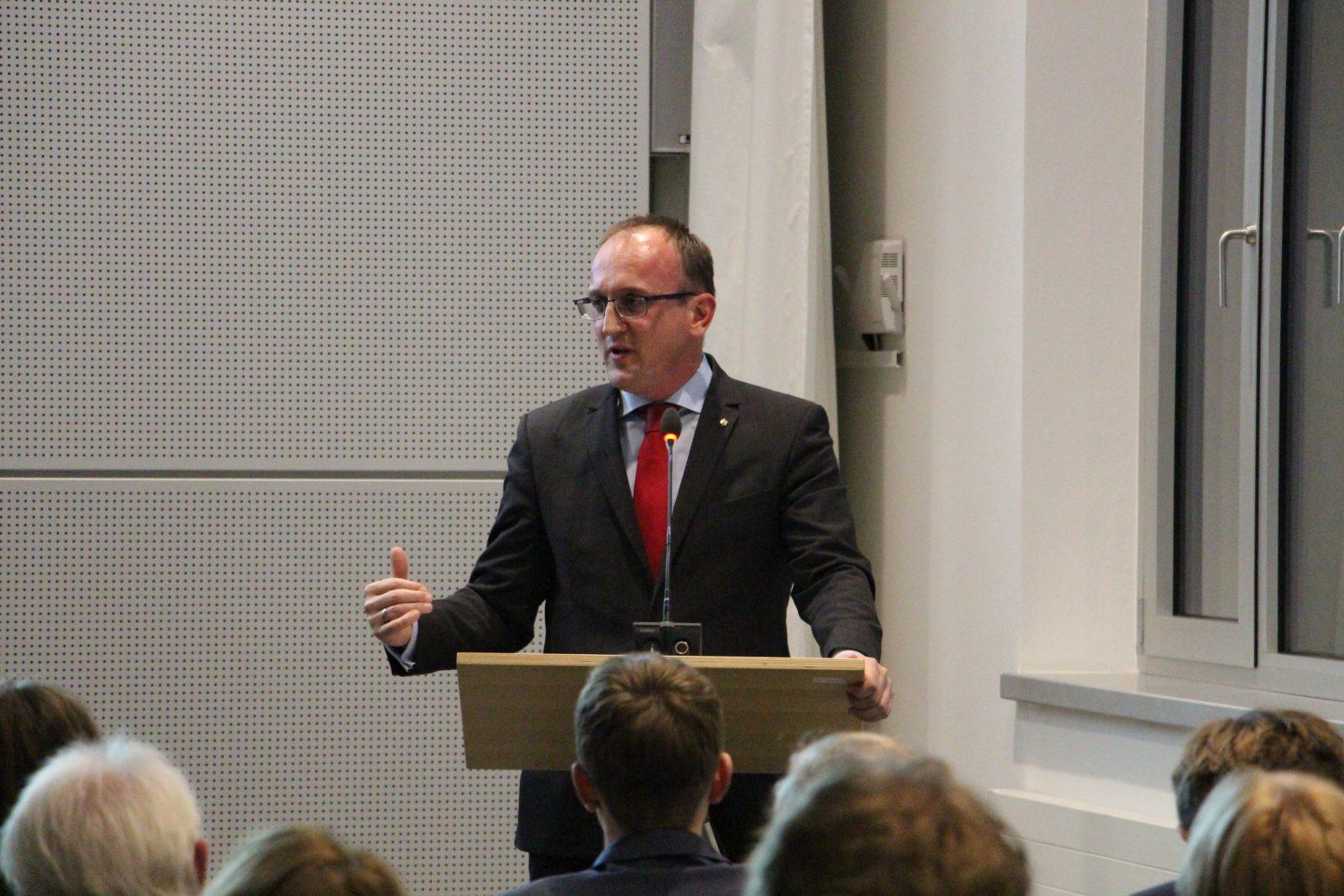Jörg Vieweg, energiepolitischer Sprecher der SPD-Landtagsfraktion