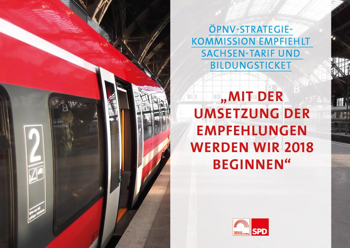ÖPNV-Kommission empfiehlt Bildungsticket und Sachsen-Tarif