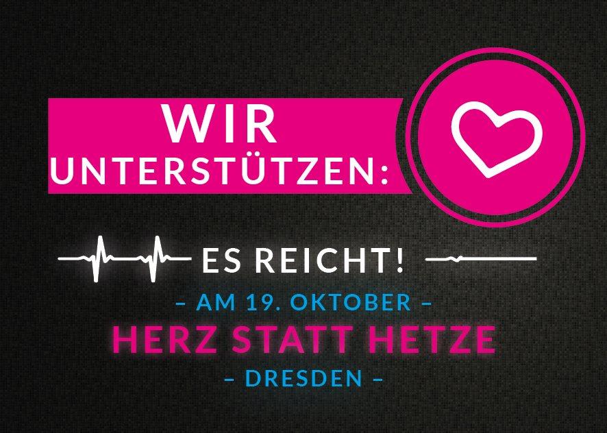 """SPD-Landtagsfraktion unterstützt """"Herz statt Hetze"""""""
