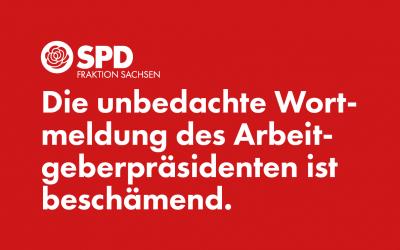 Äußerungen des VSW sind ein Schlag ins Gesicht der sächsischen Pflegekräfte