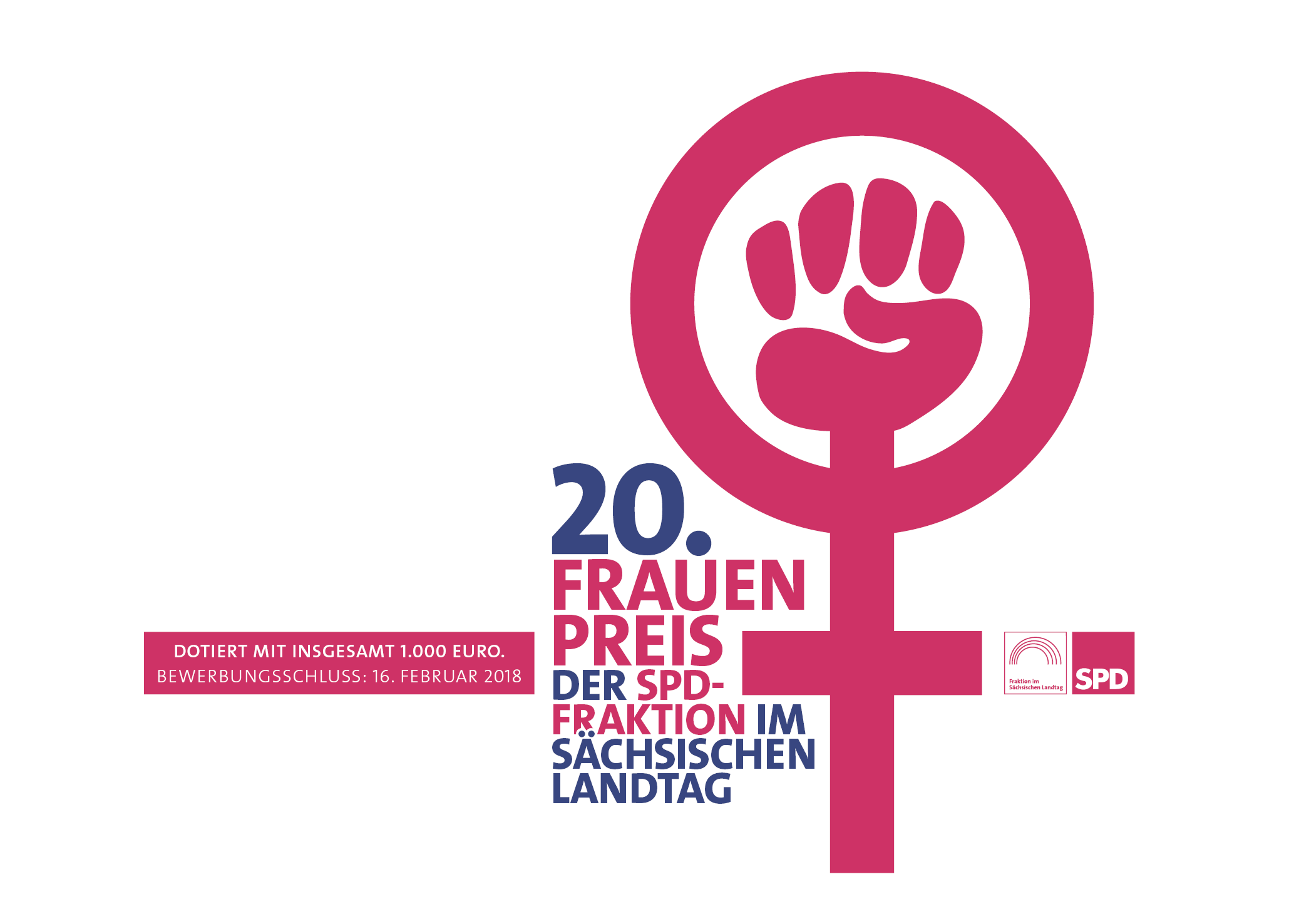 SPD-Landtagsfraktion verleiht ihren 20. Frauenpreis