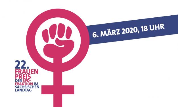 22. Frauenpreis der SPD-Landtagsfraktion verliehen