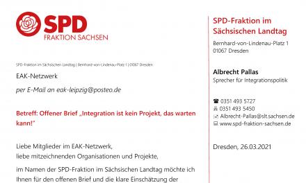 Aktuelle Situation im Bereich der Integrationsarbeit