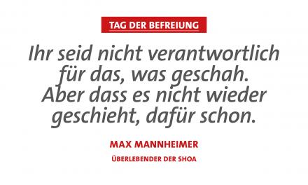 SPD-Fraktion zum 8. Mai: Nie wieder Krieg! – Wehret den Anfängen!