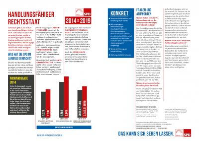 Bilanz 2014 bis 2019 - Themen16