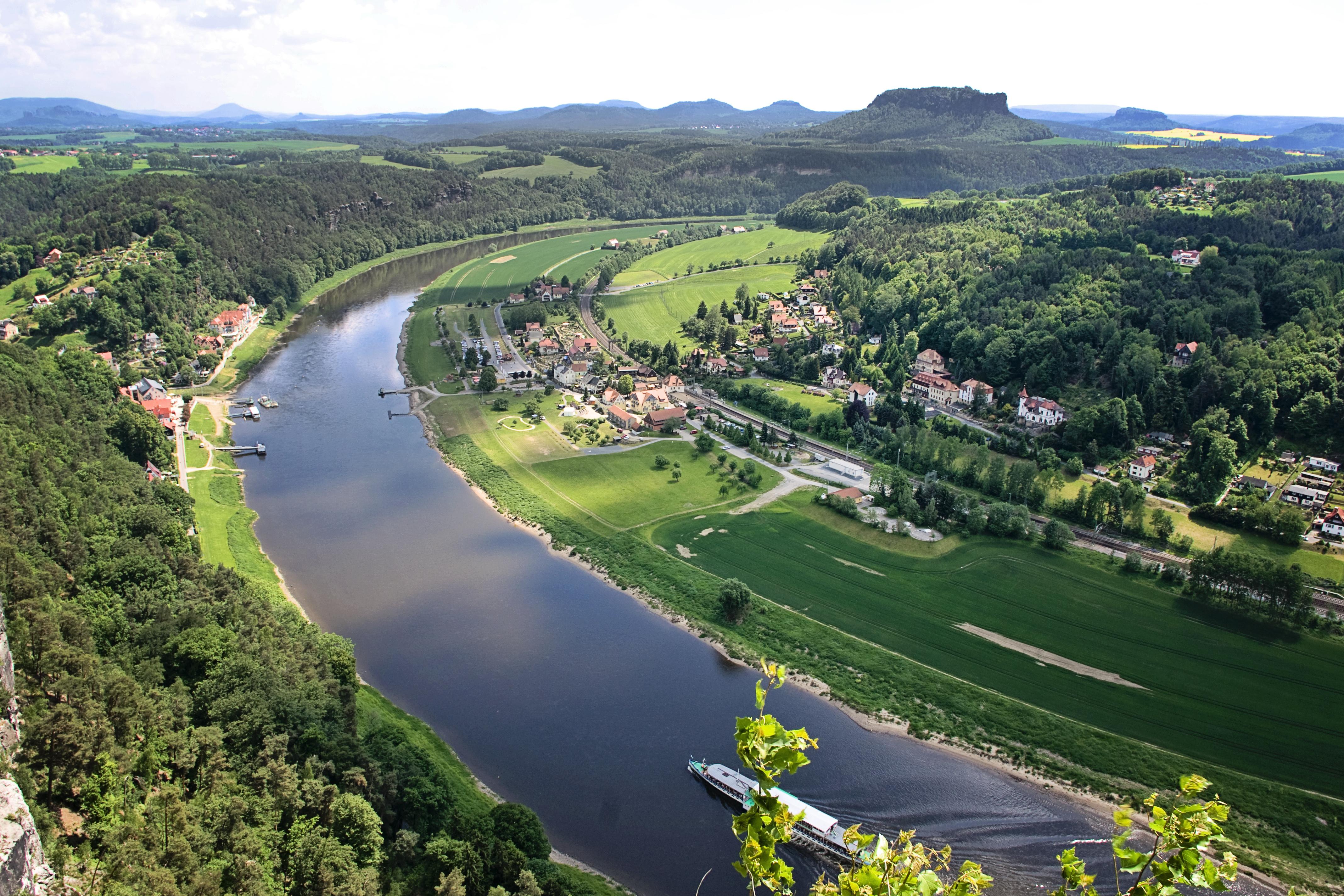 Wir haben eine umweltverträgliche Nutzung der Elbe vereinbart