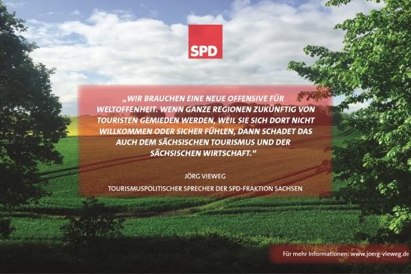 SPD macht Tourismus in Sachsen stark