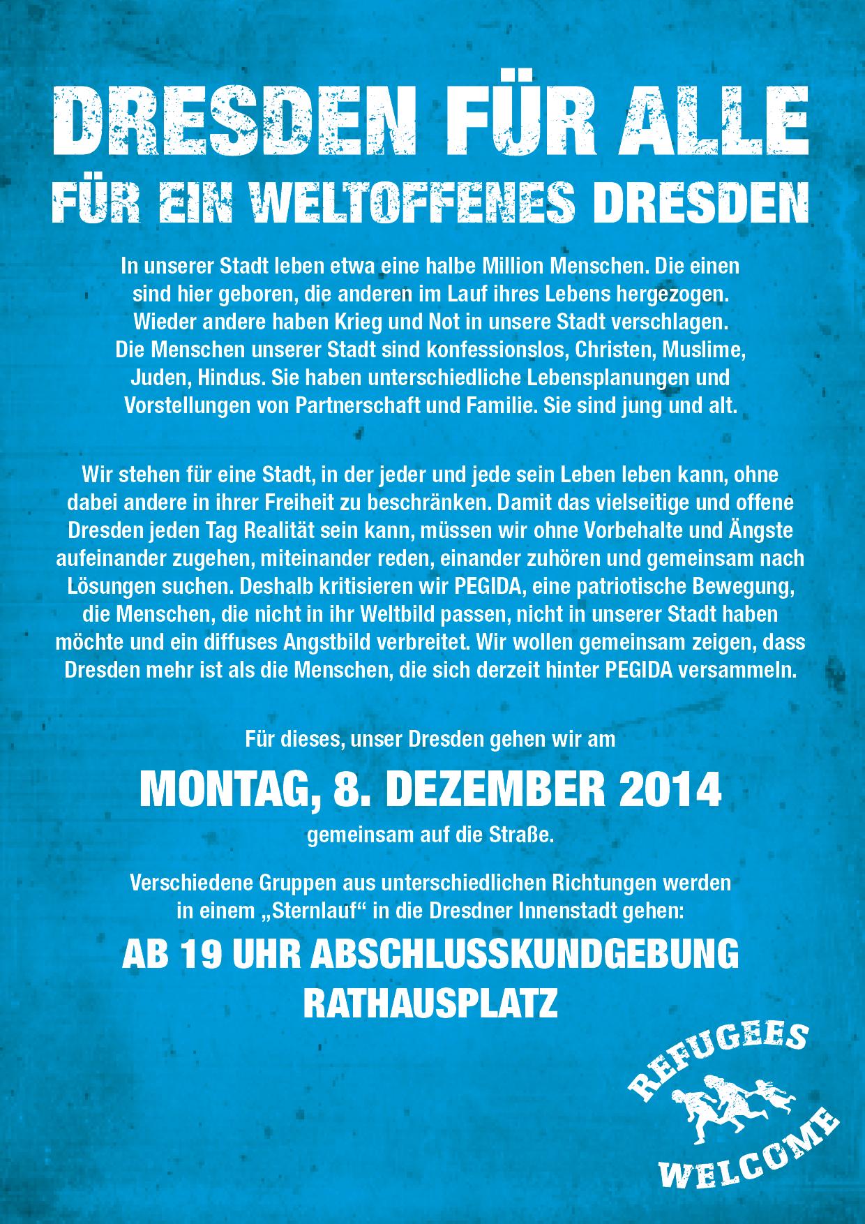 SPD-Fraktion unterstützt Dresdner Sternlauf – Angebot zum Dialog bekräftigt