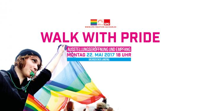 WALK WITH PRIDE @ Sächsischer Landtag | Dresden | Sachsen | Deutschland