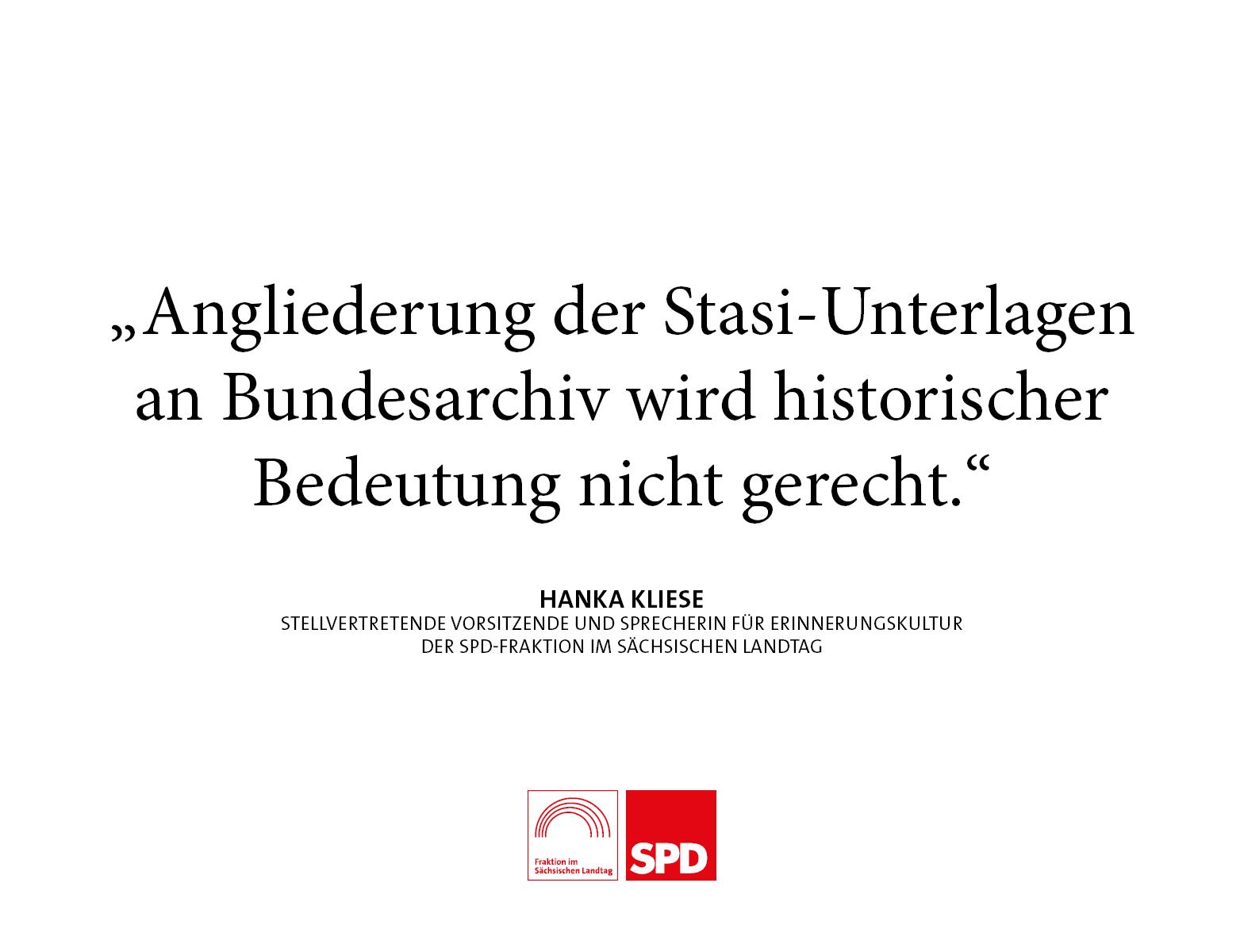 Angliederung der Stasi-Unterlagen an Bundesarchiv wird historischer Bedeutung nicht gerecht