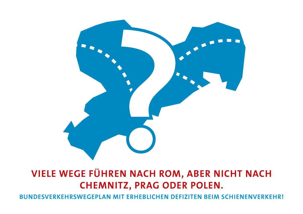 Viele Wege führen nach Rom, aber nicht nach Chemnitz, Prag oder Polen.