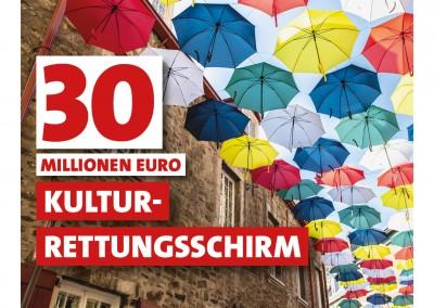 30 Millionen Euro für Kultur-Rettungsschirm