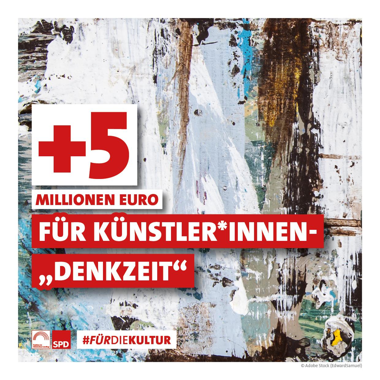 """+5 Millionen Euro für """"Denkzeit"""""""