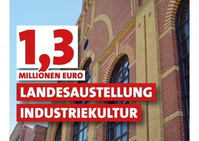 1,3 Millionen Euro für die Landesausstellung