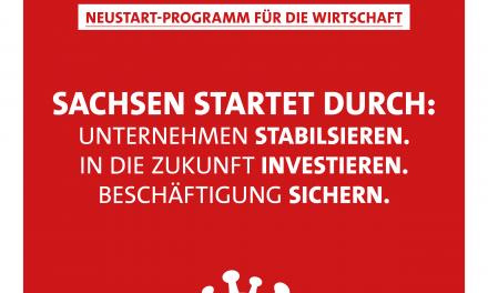 Neustart und Schutz für Sachsens Mittelstand und Industrie