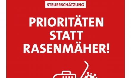 Panter: Prioritäten setzen – Kürzungen mit dem Rasenmäher nicht mit der SPD