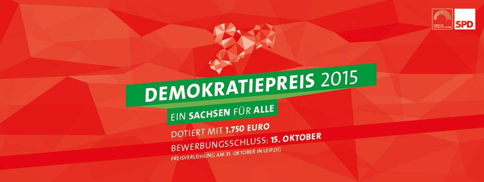 SPD-Landtagsfraktion verleiht Demokratiepreis 2015