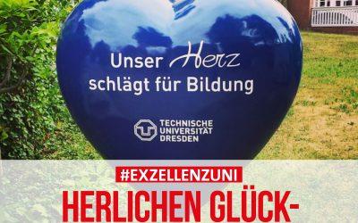 TU Dresden bleibt Leuchtturm der Spitzenforschung