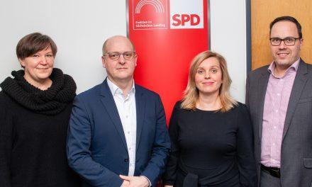 SPD-Landtagsfraktion mit neuem Vorstand