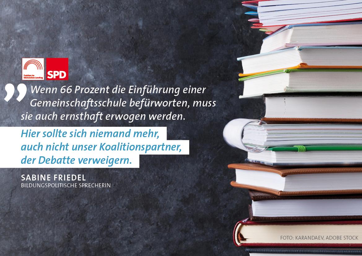 Große Mehrheit der Sachsen will längeres gemeinsames Lernen