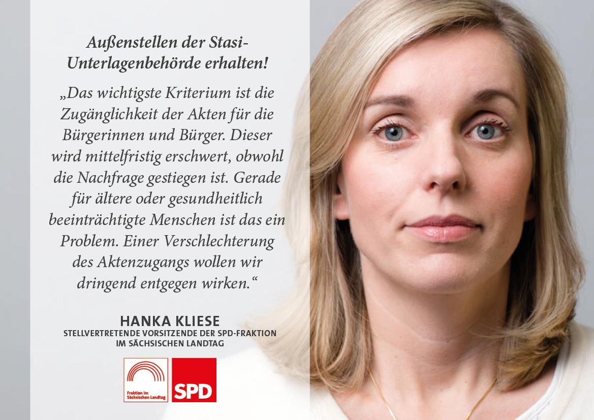 Außenstellen der Stasi-Unterlagenbehörde erhalten!