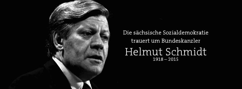 Helmut Schmidt war und bleibt ein Vorbild