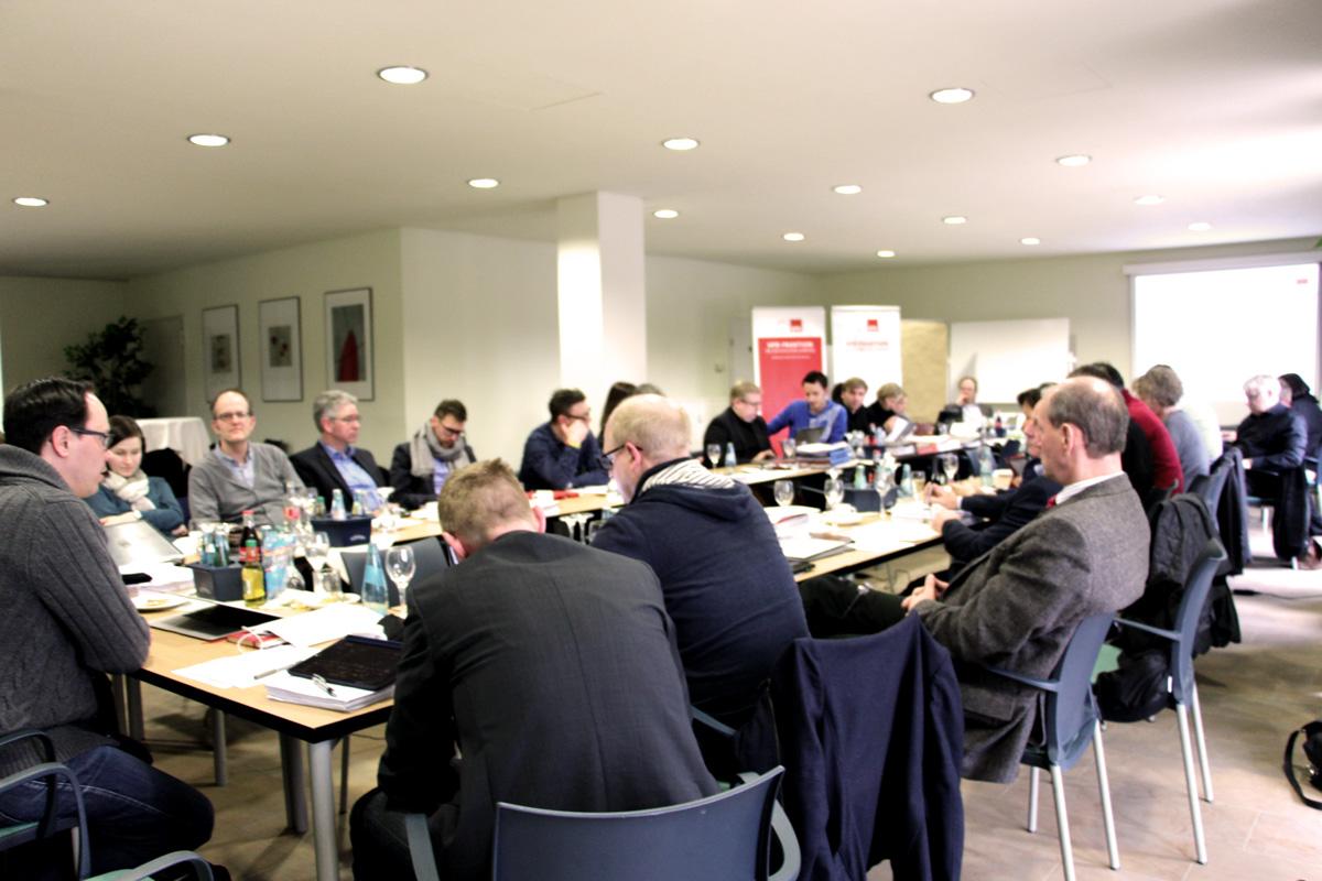 SPD-Fraktion bereitet sich auf weitere Haushaltsverhandlungen vor