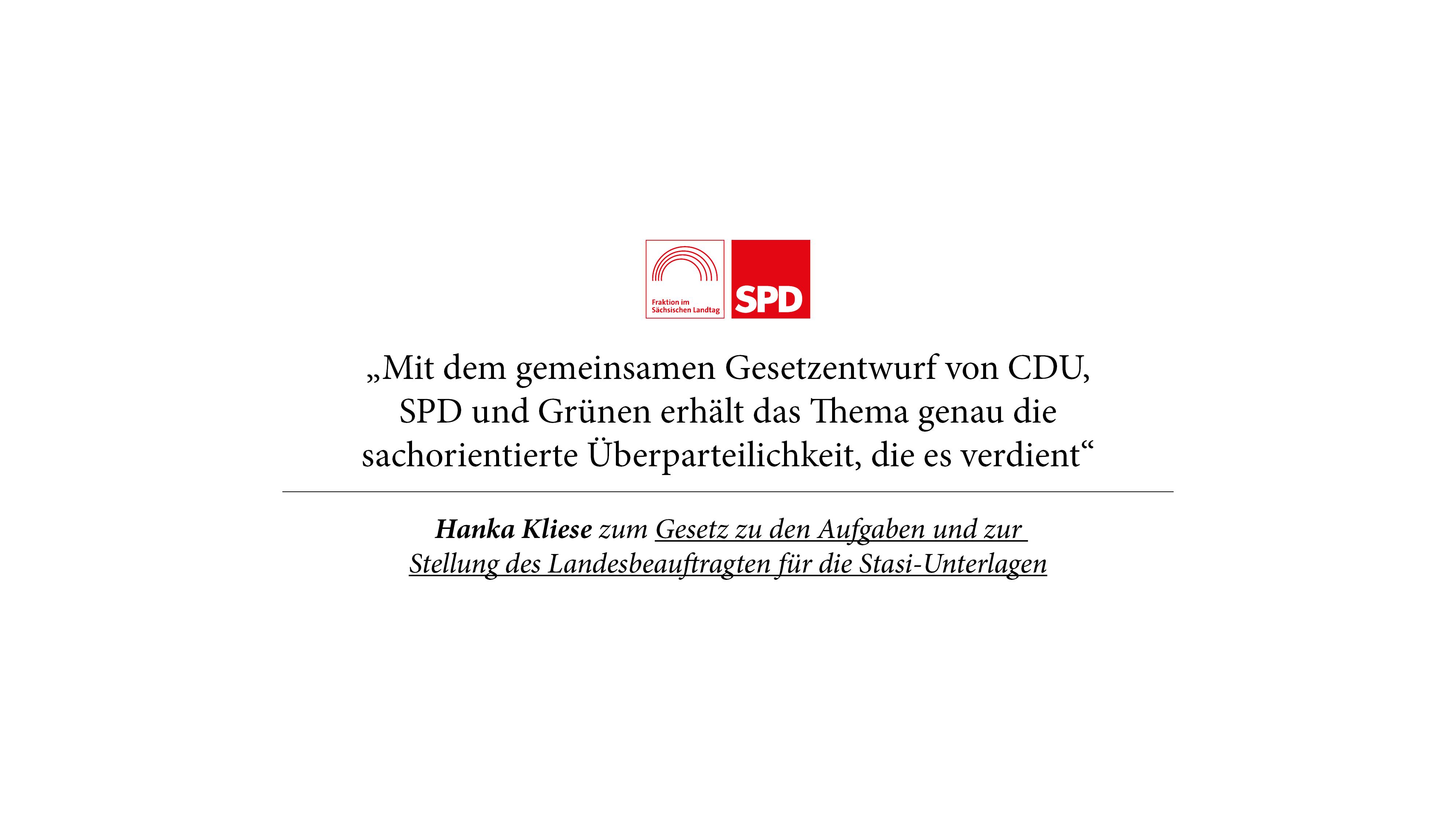 Landtag stärkt Landesbeauftragten für die Stasi-Unterlagen