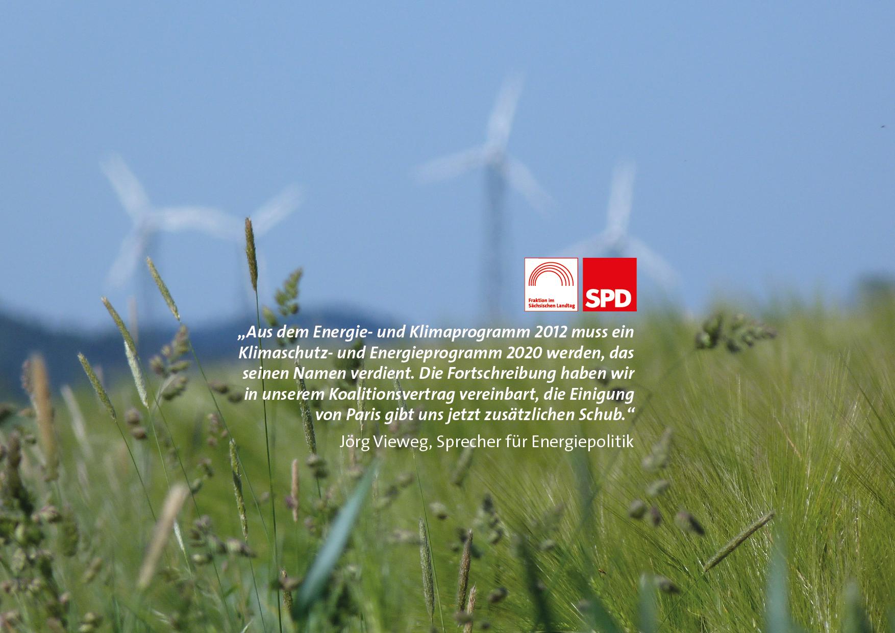 Vieweg: Sachsen braucht Klimaschutz- und Energieprogramm