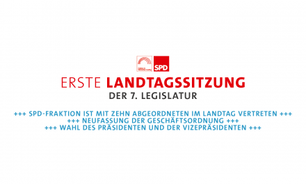 Landtag kommt zur konstituierenden Sitzung zusammen