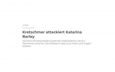 Kliese zu Kretschmer-Kritik an Barley