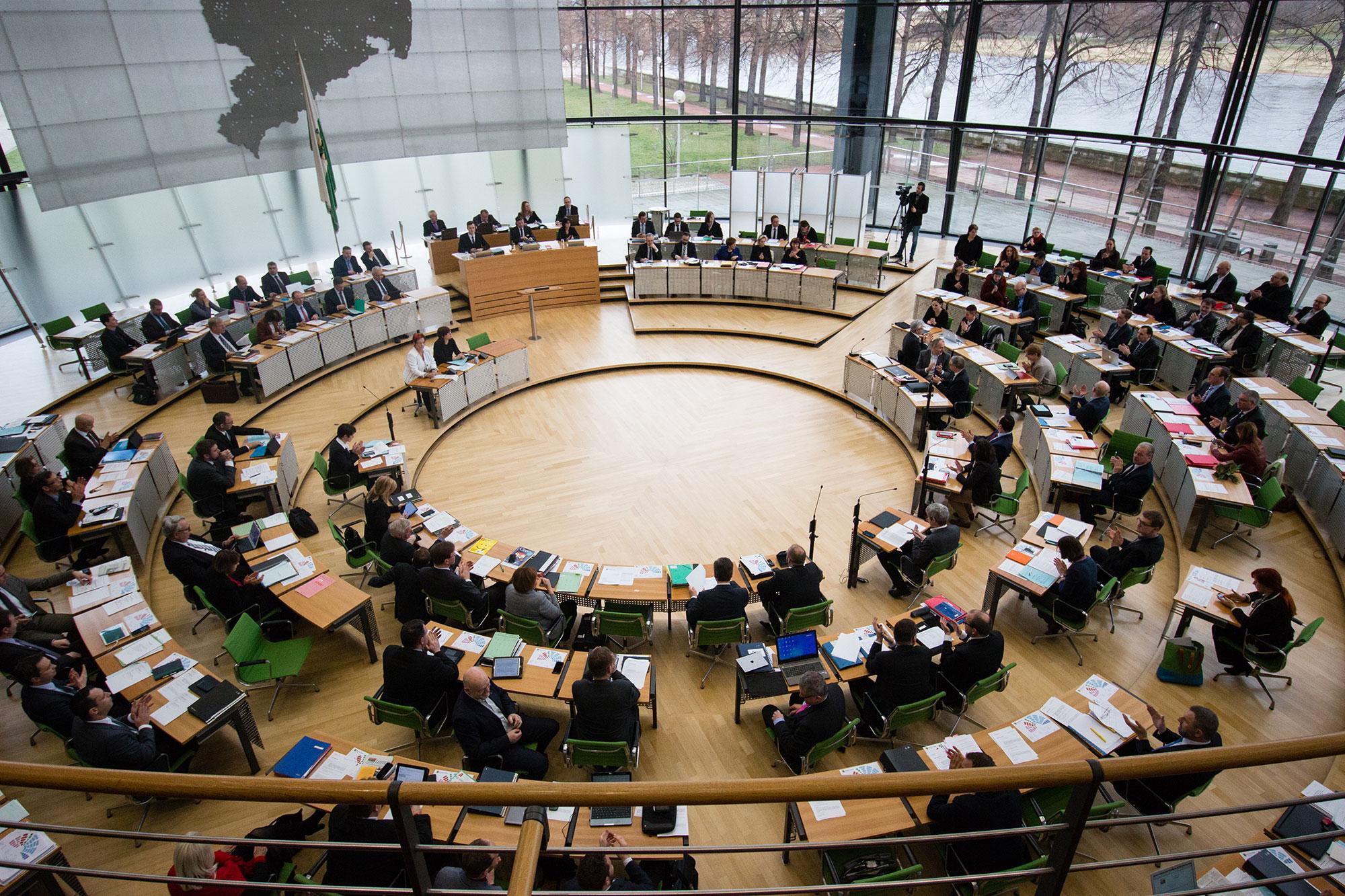 SPD-Landtagsfraktion beim Tag der offenen Tür im Landtag