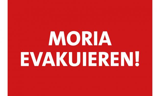 Moria evakuieren – Seehofer muss Blockade aufgeben