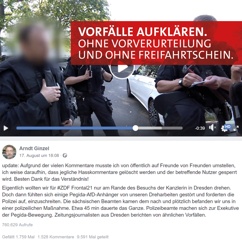Pallas: Vorfälle aufklären – ohne Vorverurteilung und ohne Freifahrtschein