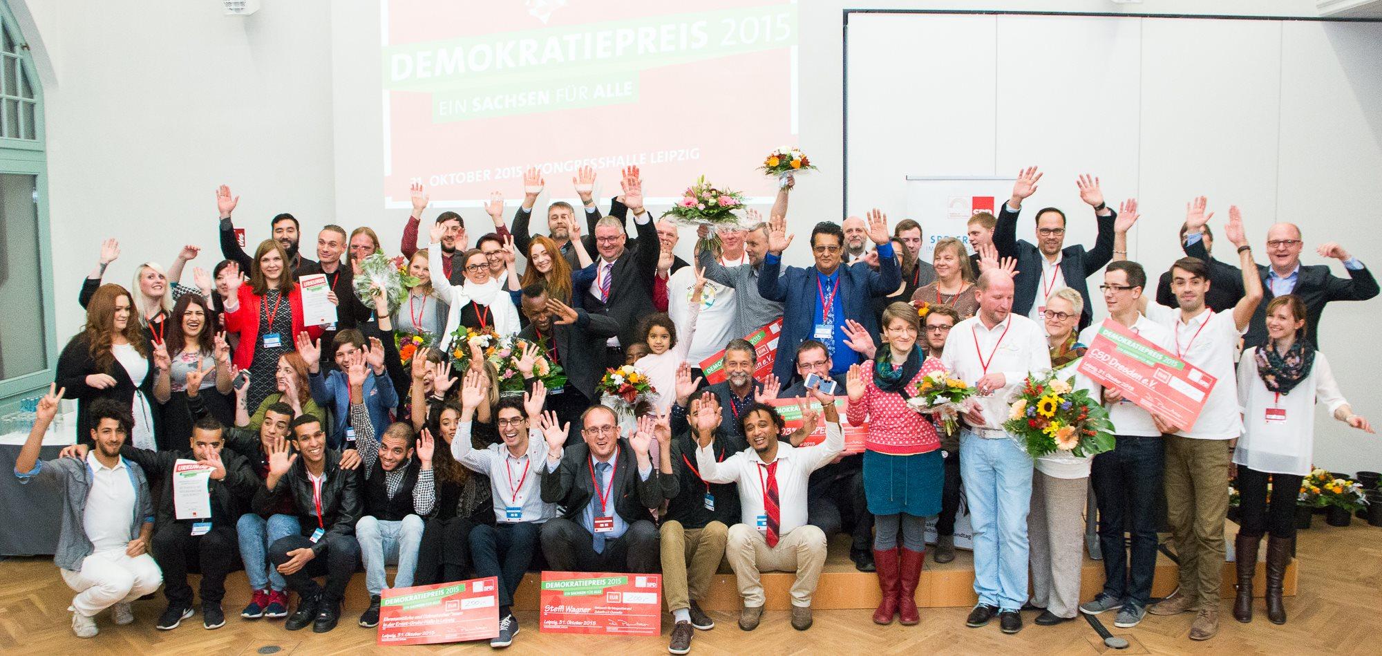 Demokratiepreise gehen nach Meißen, Plauen, Leipzig und Dresden