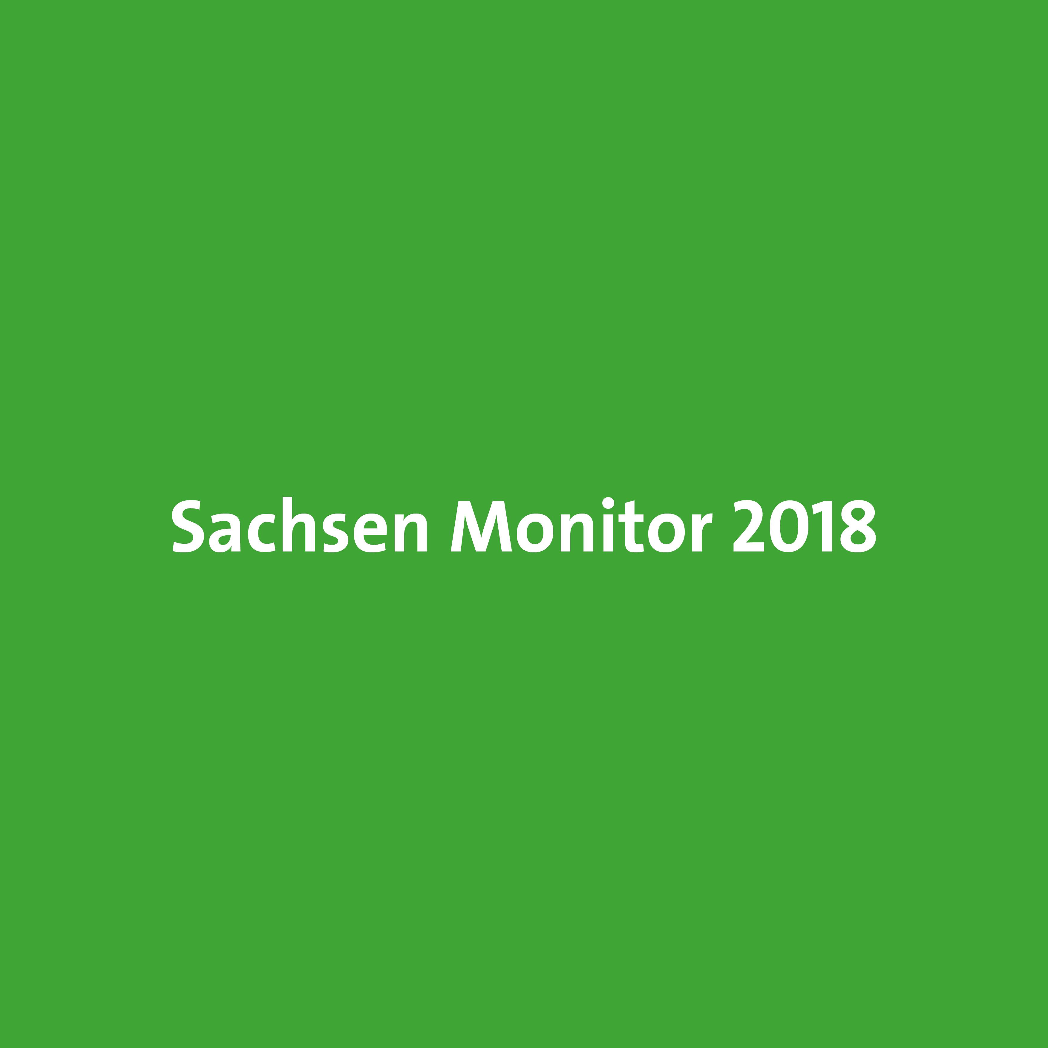 Sachsen-Monitor: Soziale Probleme brauchen soziale Antworten