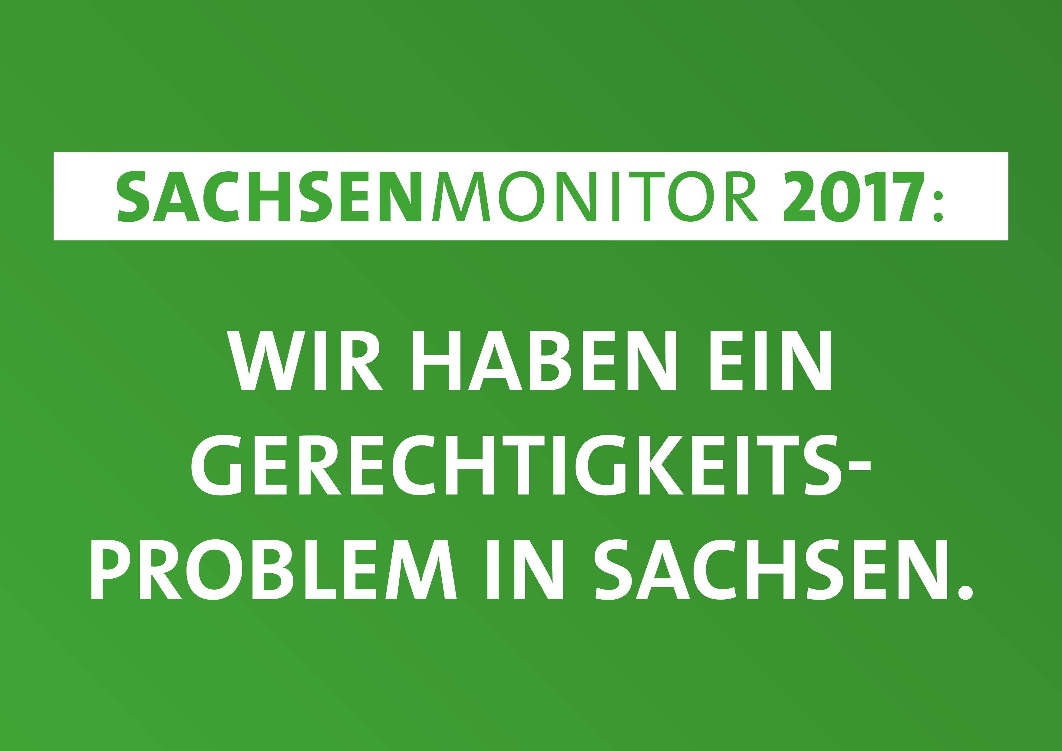Sachsen-Monitor verdeutlicht Gerechtigkeitsprobleme in Sachsen