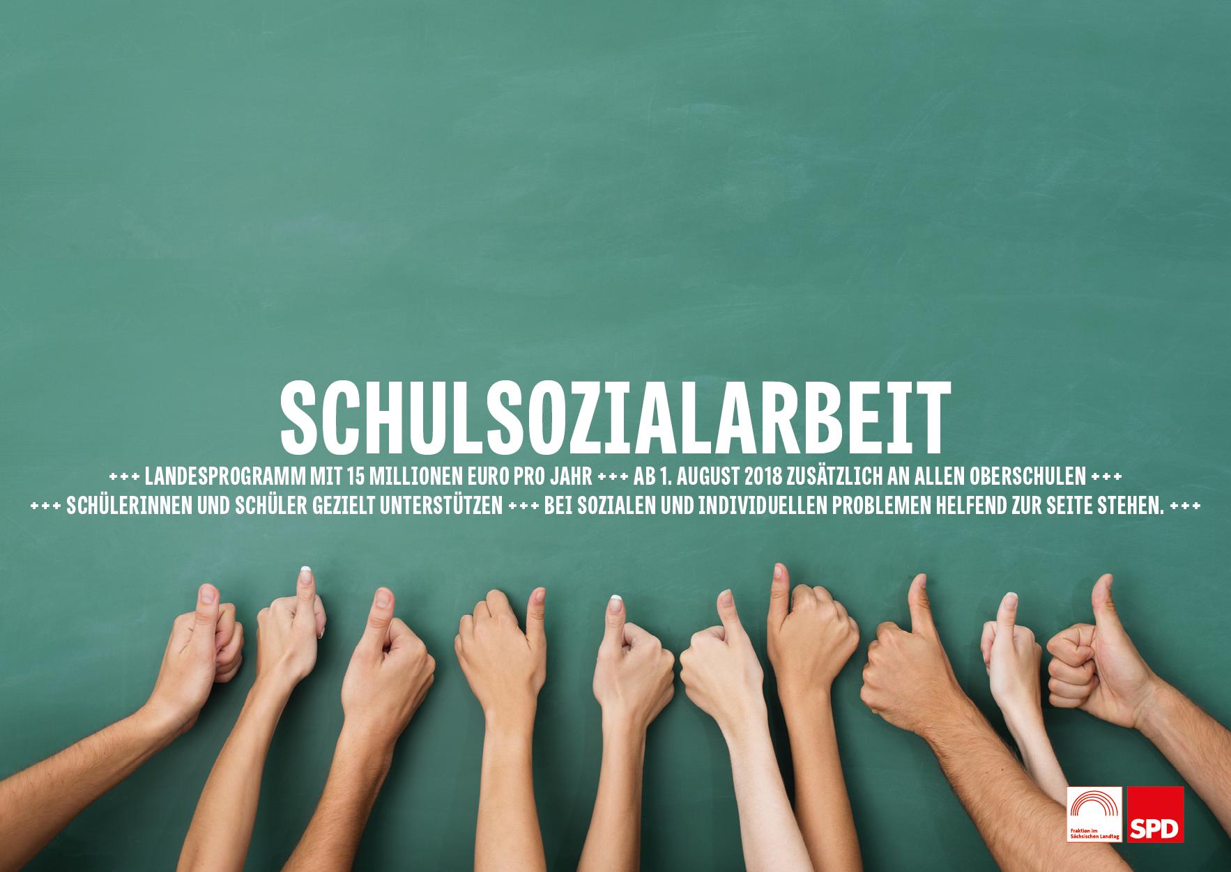 Schulsozialarbeit kommt für alle Oberschulen!