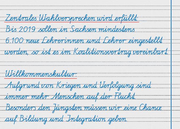 Mehr neue Lehrer an Sachsens Schulen – Zentrales Wahlversprechen der SPD wird erfüllt