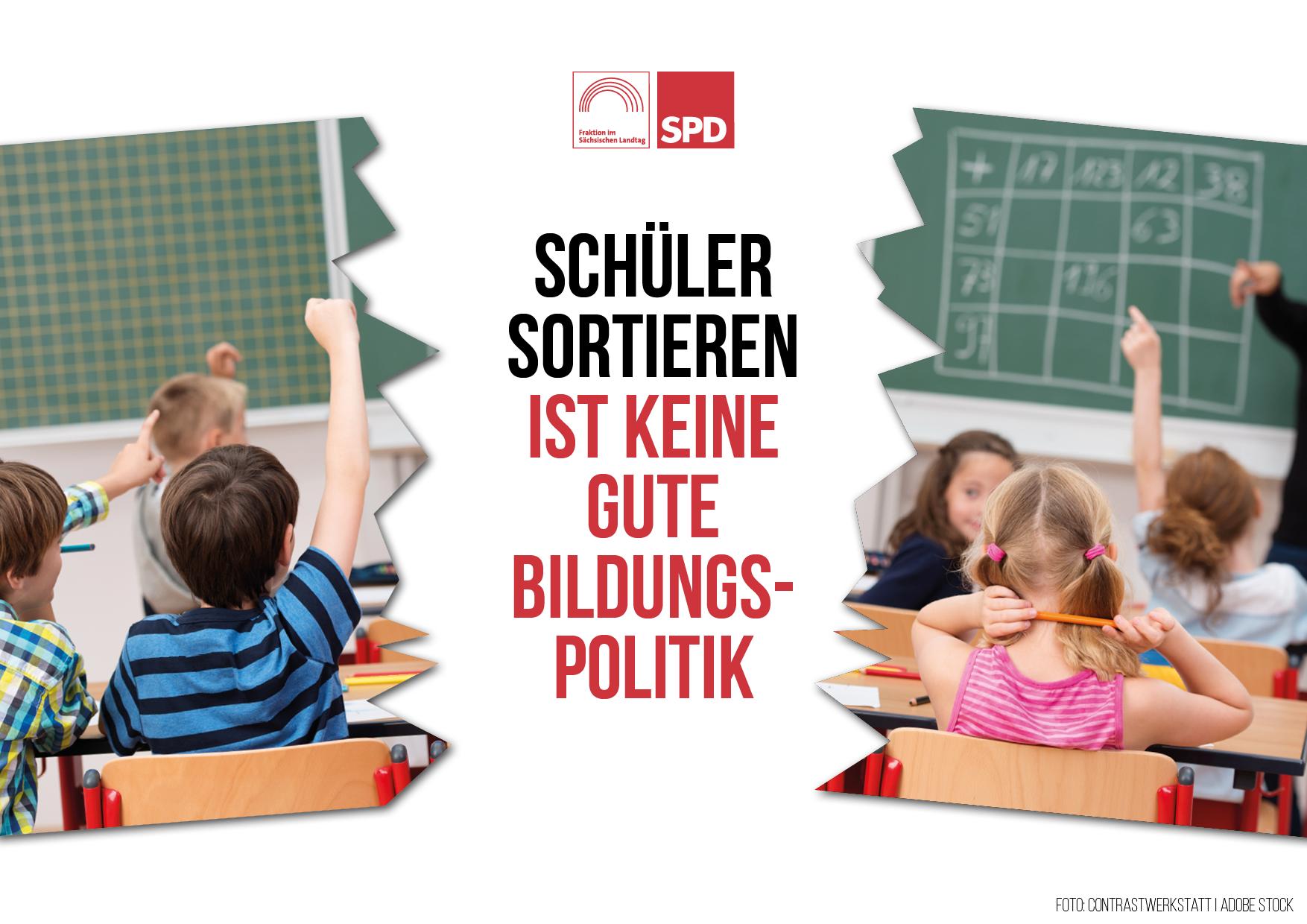 Schüler sortieren ist keine gute Bildungspolitik