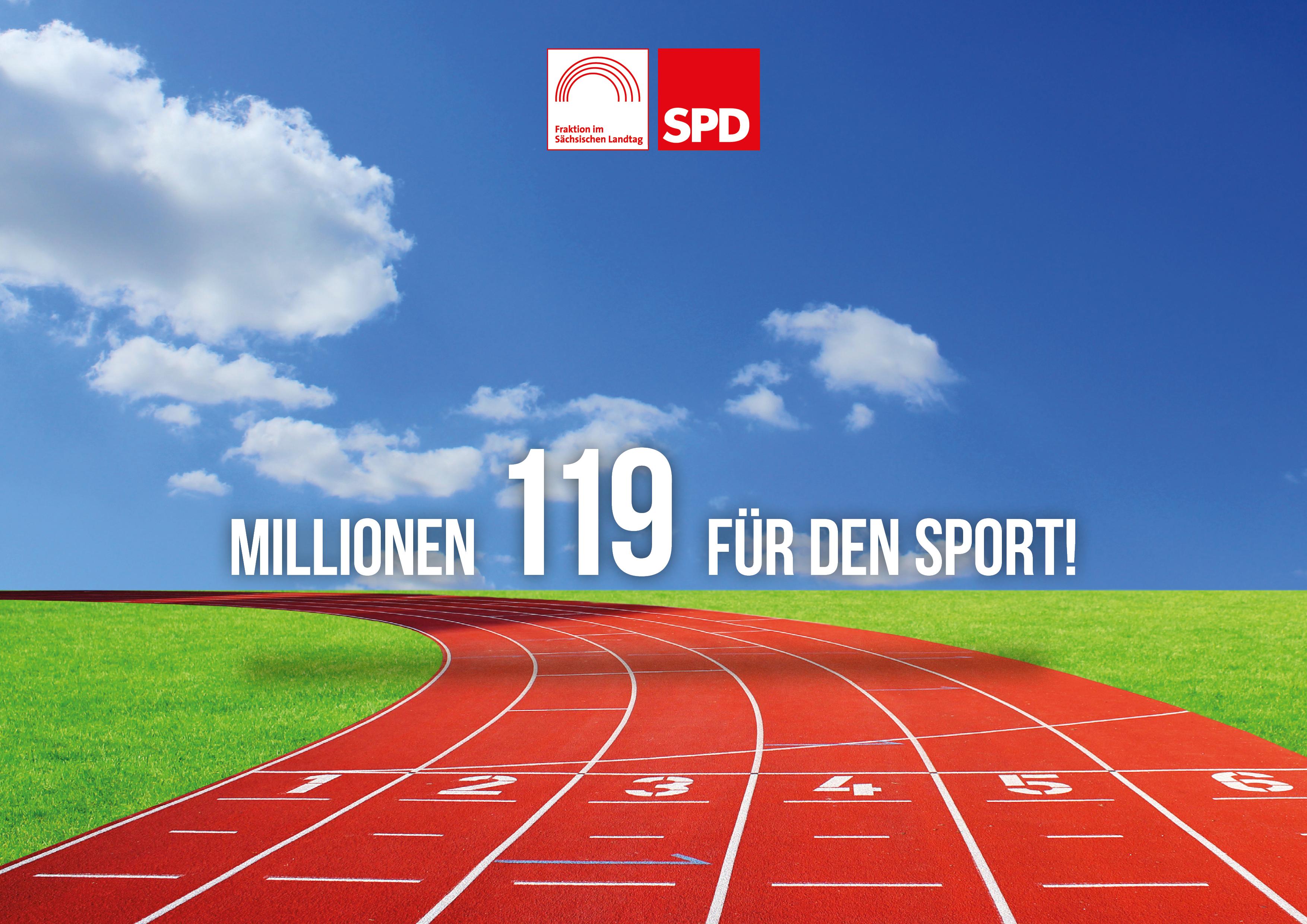 119 Mio. Euro für Sachsens Sportler