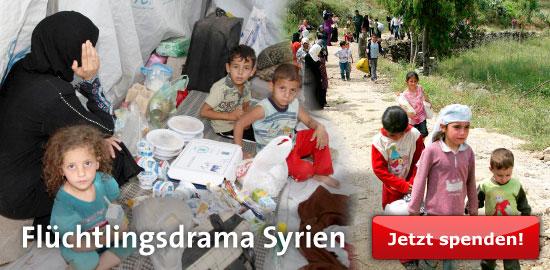 SPD-Fraktionschef Martin Dulig wirbt um Spenden für syrische Flüchtlinge