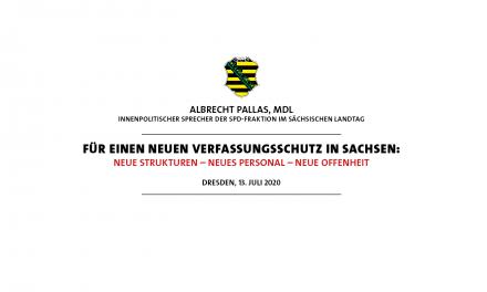 Für einen neuen Verfassungsschutz in Sachsen