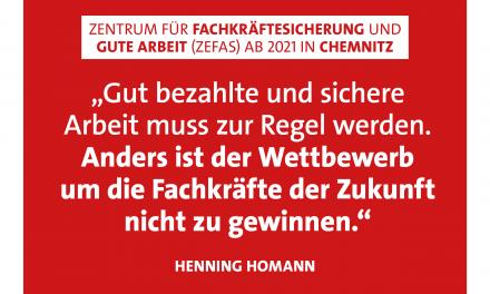 Homann: Gut bezahlte und sichere Arbeit muss zur Regel werden